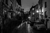 Rues de Paris - (Noir et Blanc 19) Tags: paris rues ruelles pavés nuits lampadaires nb bw noiretblanc sony a77
