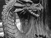 Pete's Dragon (Fred Watkins (kg4vln)) Tags: kg4vln olympus ep2 monochrome blackandwhite camminante smileysfleamarket