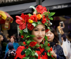 NYC Easter Parade 2018 (JMS2) Tags: easterparade nyc people holiday fifthavenue women prettywoman face streetportrait costume