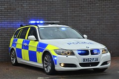 BX62 FJA (S11 AUN) Tags: west mercia police bmw 330d 3series estate touring anpr operational patrol unit opu traffic car rpu roads policing 999 emergency vehicle bx62fja