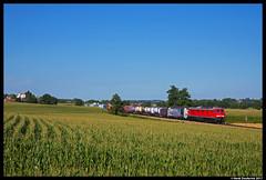 DB Cargo 232 209, Dorfen 05-08-2017 (Henk Zwoferink) Tags: dorfen henkzwoferink lomo lm lokomotion railtractioncompany rtc 232 br232 209 siemens vectron 193 772 db cargo deutsche bahn dbc bayern duitsland de