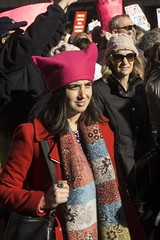 DSC07459_ep (Eric.Parker) Tags: jan202018 womens march inauguration anniversary nyc newyork manhattan sixth avenue pink pussy hat protest activism trump antitrump provote