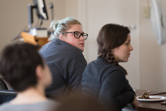Lunch and Learn March 23, 2018, Climate Change. Photos by Hannah Schroeder (Voinovich School of Leadership & Public Affairs) Tags: spring2018 voinovichschool voinovichschoolofleadershipandpublicaffairs ridges