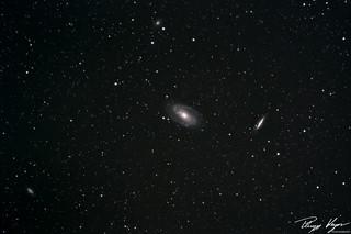 M81 Bode's Nebula and the Cigar Galaxy