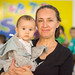 Irina with Claudia