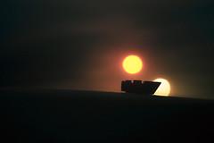 from dusk till dawn (jooka5000) Tags: sunrise sunset dawn dusk legography toys starwars lego suns twin toyphotography fromdusktilldawn bricks sandcrawler microscale moc horizon tatooine