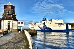 Hrossey - Aberdeen Harbour Scotland - 9/4/2018 (DanoAberdeen) Tags: bluesky architecture building holiday trip voayage aberdeencity northsea stornoway lerwick passengerferry kirkwall passengership shetlandisles shetlands northlinkferry hrossey danoaberdeen candid amateur aberdeen harbour tug offshore psv abz abdn gb uk scotland seaport seafarers workboats boat ship vessel autumn summer winter spring 2018 metal water wasser grampian aberdeenscotland aberdeenharbour maritime anchor navigate sailor tugboat fittie footdee dock berthed shipspotters oilships oilrigs cargoships supplyships tugboats recent northeastsupplyvessels offshoresupport offshoreships boats ships vessels