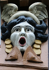Iron Face (Rick & Bart) Tags: goslar germany deutschland niedersachsen city urban rickvink rickbart canon eos70d historic architecture unescoworldheritagesite sculpture