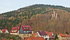 Hallenburg (kadege59) Tags: thüringen thuringia deutschland tyskland thüringerwald tourism town urban canonpowershotsx230hs castle burg mountain berg wald europe europa germany history ruine ruin