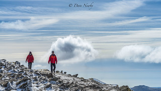Walking in the Clouds, Snowdonia, llanberis,