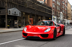 Guards red x Weissach (Aimery Dutheil photography) Tags: porsche porsche918 918spyder spyder porsche918spyder 918 v8 hybrid hypercar german guardsred weissach london londoncars londonsupercars supercar exotic fast speed amazing canon 6d