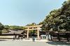 20180404 Meiji Jingu entrance 2 (chromewaves) Tags: fujifilm xt20 samyang 12mm f20 ncs cs xf tokyo japan harajuku yoyogi park meiji jingu shrine