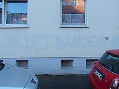 The Invisible Committee (mkorsakov) Tags: dortmund nordstadt hafen graffiti wand wall parole slogan antifa antikapitalismus bildetbanden unsichtbareskommittee invisiblecommittee buff