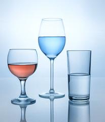 glasses (KevinChallis) Tags: flash strobe practice blue glasses diffuser reflection fuji xt20 fuji50140 water test