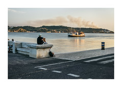 Belém, Lisboa (Sr. Cordeiro) Tags: belém lisboa lisbon portugal rua street tio tejo tagus river fumo smoke incêndio fire panasonic lumix lf1