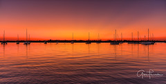 Red Sails In The Sunset (Thüncher Photography) Tags: fujifilm fuji gfx50s fujigfx50s mf mediumformat fujigf3264mmf4rlmwr scenic landscape waterscape nature outdoors sky clouds colors reflections sunset boats harbor stuart martincounty palmcity florida southeastflorida