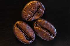 Coffee (OfficialTibalidge) Tags: coffee macro canon winter brown aroma love caffeine denmark march cold inside creative