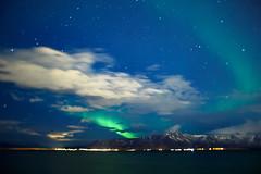 Northern Lights | Reykjavik, Iceland 2018 #75/365 [Explored] (A. Aleksandravičius) Tags: northern lights reykjavik water mountains nature aurora borealis burnside35 burnside lensbaby seeinanewway selectivefocus bokeh nikon nikond750 d750 365days 3652018 365 project365 75365