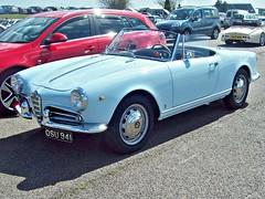 12 Alfa Romeo Guilietta Spider (1961) (robertknight16) Tags: alfa alfaromeo italy italian 1960s giulietta silverstone osu941