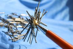 magnetism (maotaola) Tags: flickrfriday handtools magnetism macrofotografía nails attraction