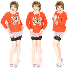 home17496-98 (Ann Drogyny) Tags: shoes legs heels crossdress crossdresser crossdressing cd tv tg ts transvestite transgender transsexual tranny tgirl glamour pinup mature cute sexy stockings nylons suspenders garters