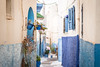 B/W (Mopple Labalaine) Tags: rabat rabatsalezemmourzaer morocco kasbah oudaias udayas blue street