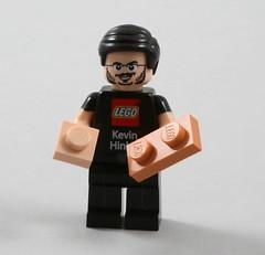 Mr Kevin Hinkle (AzureBrick) Tags: lego mr kevin hinkle light flesh nougat