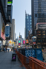 Morning in New York (Oleg.A) Tags: square usa newyork sunrise manhattan street city outdoor town morning summer colorful interior architecture yellow blue timessquare design style nyc america outdoors unitedstates us
