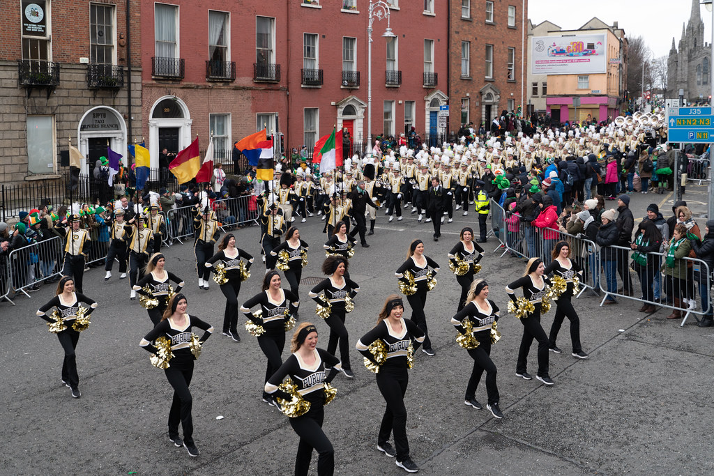 PURDUE ALL AMERICAN MARCHING BAND [DUBLIN PARADE 17 MARCH 2018]-137683