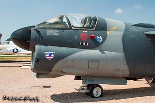 74-0739 USAF | Ling-Temco-Vought A-7D Corsair II | South Dakota Air & Space Museum