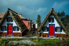 A-frame thatched houses, Santana, Madeira (Blackburn lad1) Tags: madeira santana house red aframe building xt20 fujifilm 5photosaday