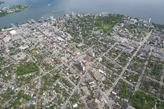 Kingston from Above (Ben_Senior) Tags: cornwall kingston easternontario ontario canada summer landscape flight flying bensenior nikond7100 nikon d7100 aerial airborne perspective town city rural field farm farms fields lake water quarry buildings roads gananoque lakeontario river reflections
