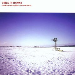 2003_Girls_In_Hawaii_Found_In_The_Ground_The Winter_EP_2003 (Marc Wathieu) Tags: rock pop vinyl cover record sleeve music belgium belgië coverart belgique pochette cd indie artwork vinylcover sleevedesign 62tvrecords 2003 girlsinhawaii