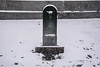 Fontana torinese - Turin fountain. (sinetempore) Tags: fontanatorinese turinfountain neve snow freddo cold inverno winter turet toretto acqua water