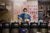 Soup Station - Shilin Night Market (Kostas Trovas) Tags: woman night potrait food ruleofthirds shilinnightmarket travel taipei taiwan streetfood streetphotography soup soupstation people cooking chinesefood
