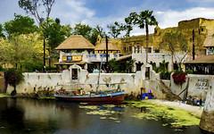 Harambe (pedro katz) Tags: dak disney wdw animalkingdom harambe africa water boat trees sonyalpha6000 sky topazsoftware