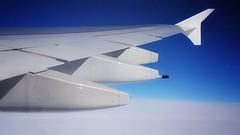 Über den Wolken... (D.Purkhart) Tags: a380 clouds flight indischerozean 40000ft
