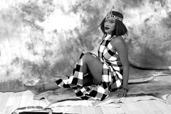 DSC_1238 B&W (photographer695) Tags: stony traditional cultural kenyan maasai cloth costume with beaded headdress photo shoot shoreditch studio london