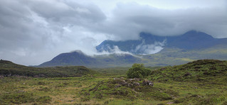 Cuillins Cloaked in Clouds