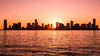Skyline Jersey City (christopherbischof) Tags: newjersey jerseycity skylinejerseycity sunset sonnenuntergang wasser water waterreflection fluss river hudsonriver sonne sun skyline skyscraper wolkenkratzer usa architektur architecture amerika america fujifilm fujifilmxe1