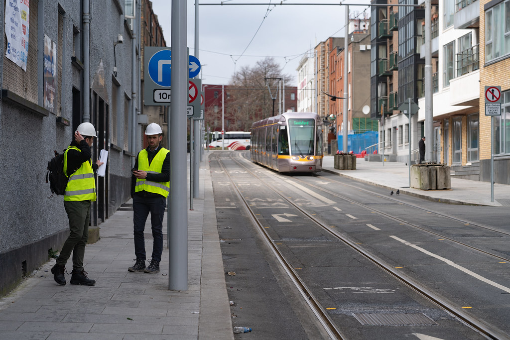 DOMINICK STREET DUBLIN [TRAMS AND TRACKS]-137845