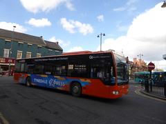 Go North East 5300 NK08 CHF, Prudhoe Pl, Newcastle (sambuses) Tags: gonortheast tynedaleexpress 5300 nk08chf