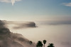 Rolling Fog on Palos Verdes (adamOHphotOH) Tags: california nikon n75 film 35mm ishootfilm palos verdes redondo beach ocean travel landscape fog morning dew