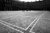 The Silence of Old Cities (YIP2) Tags: old city cities historical street silence streetview thehague denhaag square binnenhof bw architecture blackandwhite