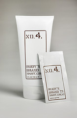 Rudy's Brand shave cream