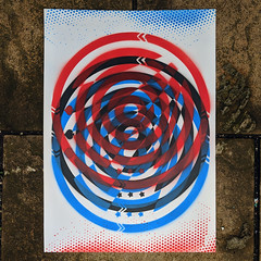Seeing Triple (id-iom) Tags: 3d aerosolpaint anaglyph art arts blue brixton circle cool england graffiti idiom logo london paint red repeat rocky round spade spray spraypaint star stencil triple uk urban
