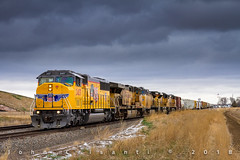 Cold and Crisp SD60M (Colorado & Southern) Tags: unionpacific unionpacificrailroad unionpacificgreeleysubdivision emdsd60m geac6044cw geac4400cw emdsd70ace local trains train railfanning railroad railfan railway railroads railroading rail rr railroadtrack colorado coloradorailroads coloradotrains