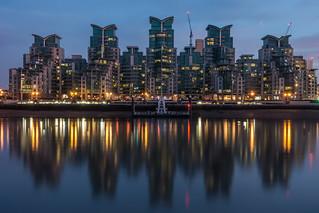St George Wharf | Blue Hour