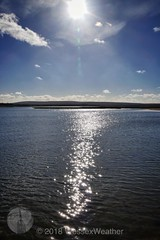 Rays & Reflection (WessexWeather) Tags: dorset pooleharbour arne rspb