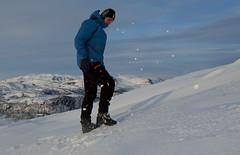 Too hard? (Anders_3) Tags: sirdal norge norway vestagder raudåknuten skiing winter snow telemark youngman bergans xxl nikond700 mountains turistforeningen topptur 7s59751